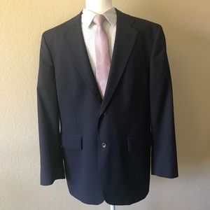 Banana Republic Navy Blue two button blazer 42S